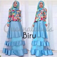 model baju gaun muslim Pusat-Gamis-Terbaru-MEDIVA-Vol-1-by-Queena-Biru
