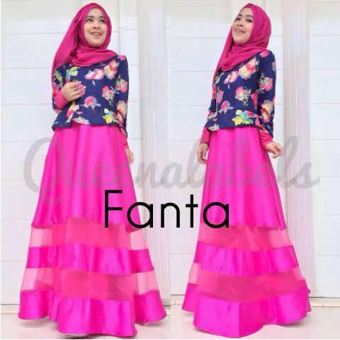 Mediva Vol 1 By Queena Fanta Baju Muslim Gamis Modern