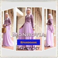 baju muslim modern full, Pusat-Gamis-Terbaru-MONROVIA-By-Efandoank-Lavender