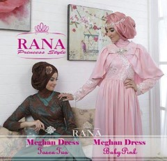 baju muslimah online, Pusat-Gamis-Terbaru-Meghan-Dress-by-Rana-Toscsa-Tua-baby-Pink
