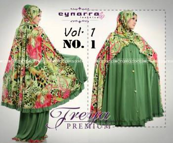 model baju muslimah trendy Pusat-Gamis-Terbaru-Mukena-Freya-Premium-Vol-1-no-1