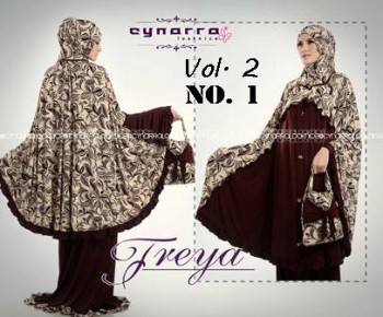 baju muslim wanita eksklusif Pusat-Gamis-Terbaru-Mukena-Freya-Premium-Vol-2-no-1