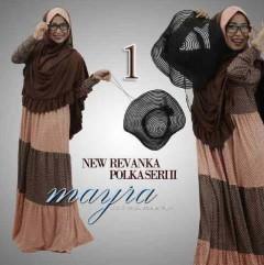 baju muslim modern butik, Pusat-Gamis-Terbaru-New-Revanka-by-Mayra-Kode-1