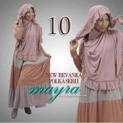 model baju muslim modern wanita, Pusat-Gamis-Terbaru-New-Revanka-by-Mayra-Kode-10