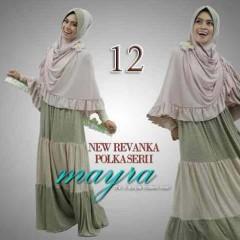 model busana muslim modern 2014, Pusat-Gamis-Terbaru-New-Revanka-by-Mayra-Kode-12