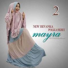 baju muslim modern dan trendy, Pusat-Gamis-Terbaru-New-Revanka-by-Mayra-Kode-2