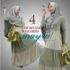 baju muslim modern ala hijabers, Pusat-Gamis-Terbaru-New-Revanka-by-Mayra-Kode-4