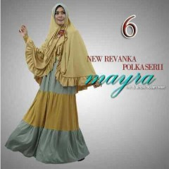 model baju muslim pesta, Pusat-Gamis-Terbaru-New-Revanka-by-Mayra-Kode-6