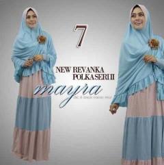 baju pesta muslimah modern, Pusat-Gamis-Terbaru-New-Revanka-by-Mayra-Kode-7