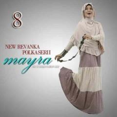 gamis pesta muslimah, Pusat-Gamis-Terbaru-New-Revanka-by-Mayra-Kode-8