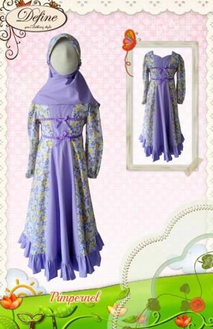 baju muslim anak cantik, Pusat-Gamis-Terbaru-Pimpernel