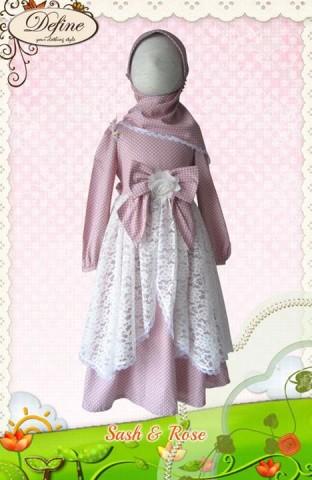 baju muslim anak keren, Pusat-Gamis-Terbaru-Sash-&-Rose