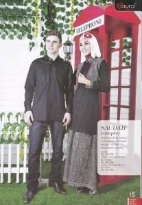 model baju muslimah, Pusat-Gamis-Terbaru-Saudah-Couple-by-Naura