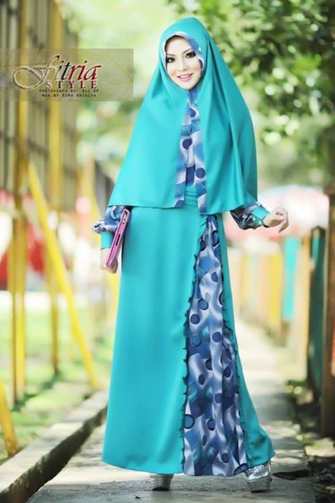 Tsalitsa By Fitria Style Tosca Baju Muslim Gamis Modern