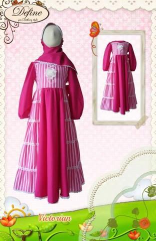 baju muslim anak yang terbaru, Pusat-Gamis-Terbaru-Victorian