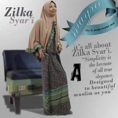 baju muslim pesta, Pusat-Gamis-Terbaru-Zilka-by-Mayra-Kode-A