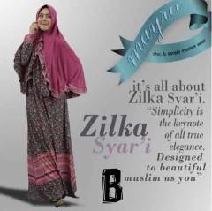 baju muslimah online shopping, Pusat-Gamis-Terbaru-Zilka-by-Mayra-Kode-B