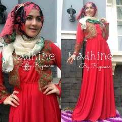desain gaun, Pusat-Gamis-terbaru-Nadhine-by-kynara-Red