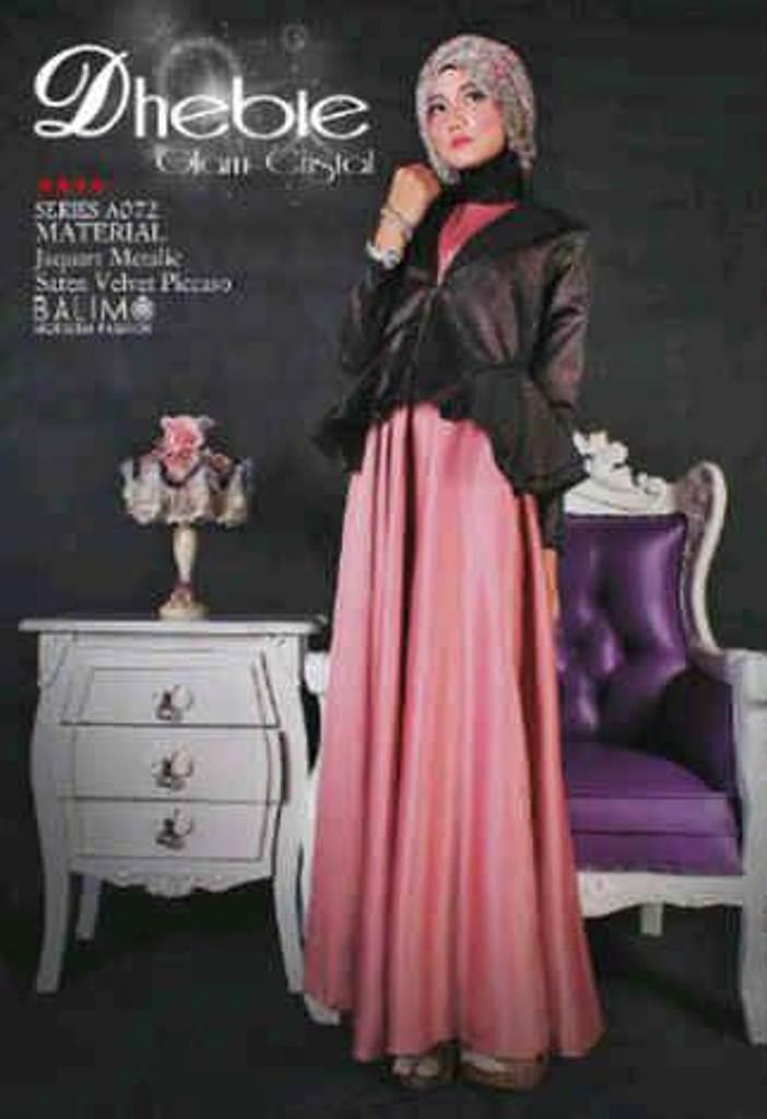 Balimo Dhebie Piech Baju Muslim Gamis Modern
