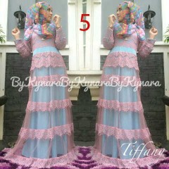 model baju terbaru muslim Gamis-TerbaruTiffany-by-Kynarra-5