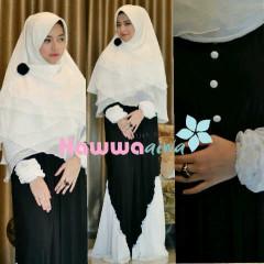model baju masa kini  Nabawiyya Black
