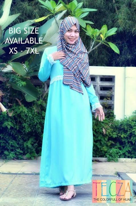model baju muslim modern Pusat-Gamis-Terbaru-Aisyah-Dress-by-DR-Style-Muslim-Biru