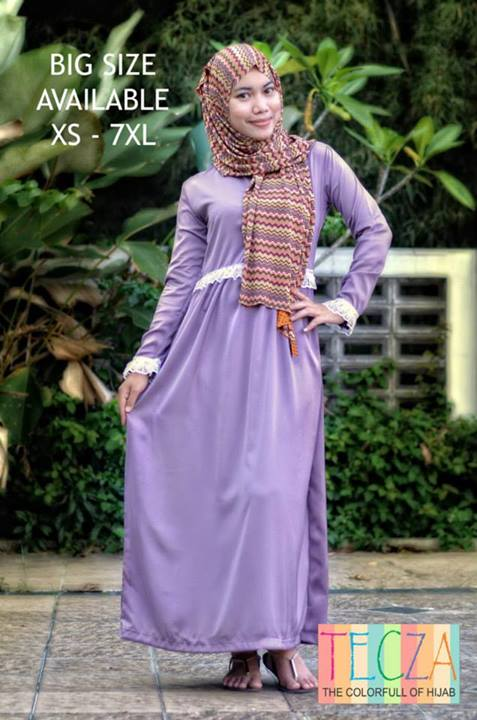 model baju muslim modern terbaru Pusat-Gamis-Terbaru-Aisyah-Dress-by-DR-Style-Muslim-Ungu