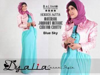 baju muslim modern online Pusat-Gamis-Terbaru-Balimo-Dyalia-(A-078)-Blue-Sky