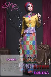model baju muslim etnik Pusat-Gamis-Terbaru-E-020602