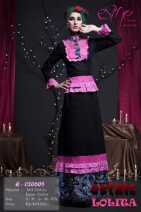 busana muslim gaya baru Pusat-Gamis-Terbaru-E-020605