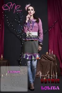 baju muslim cantik modern Pusat-Gamis-Terbaru-E-020609