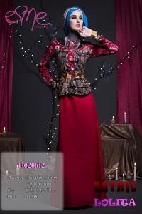 model baju muslim 2014 wanita Pusat-Gamis-Terbaru-E-020612