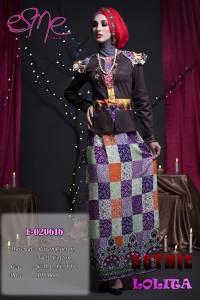 Model Baju Muslimah Style Masa kini Pusat-Gamis-Terbaru-E-020616