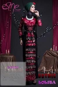 baju muslim elegan modern Pusat-Gamis-Terbaru-E-020619