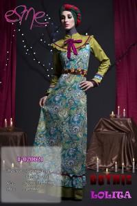 baju muslim hijabers Pusat-Gamis-Terbaru-E-020621