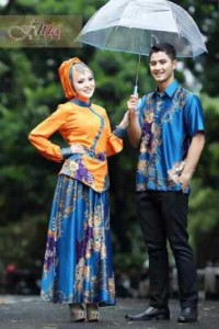 Model baju muslimah trendy Pusat-Gamis-Terbaru-Fasa-Syifa-Couple-by-Fitria-Style-Biru