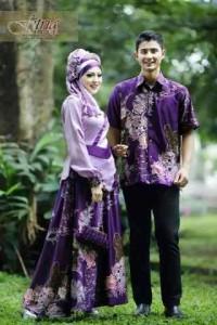 baju muslim pesta modern Pusat-Gamis-Terbaru-Fasa-Syifa-Couple-by-Fitria-Style-Ungu