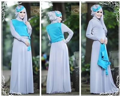 Hafadah By Fitria Style Abu S Baju Muslim Gamis Modern