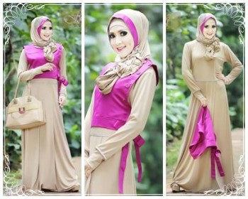 Hafadah By Fitria Style Coksu Baju Muslim Gamis Modern