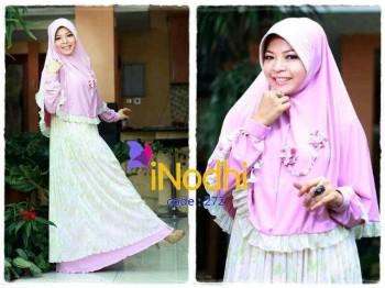 model baju muslim modern Pusat-Gamis-Terbaru-Inodhi-Kode-272