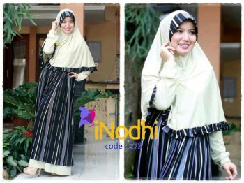 baju muslim di semarang Pusat-Gamis-Terbaru-Inodhi-Kode-273