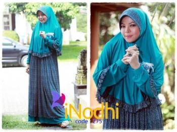 baju muslim terbaru 2014 online Pusat-Gamis-Terbaru-Inodhi-Kode-275