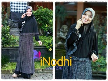 baju batik wanita Pusat-Gamis-Terbaru-Inodhi-Kode-276