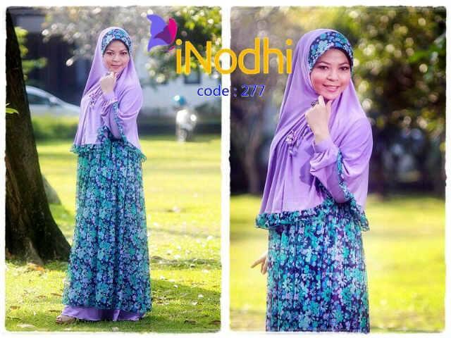 Inodhi Kode 277 Baju Muslim Gamis Modern