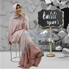 busana muslim trendy Pusat-Gamis-Terbaru-Kalili-Syar'i-by-Mayra-Salem-Tua