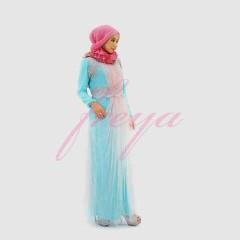 model baju masa kini  Pusat-Gamis-Terbaru-Makayla-by-Freya-Hijau-Telur-Asin