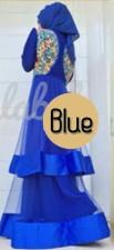 baju muslimah modis Pusat-Gamis-Terbaru-Olveira-by-Queena-blue