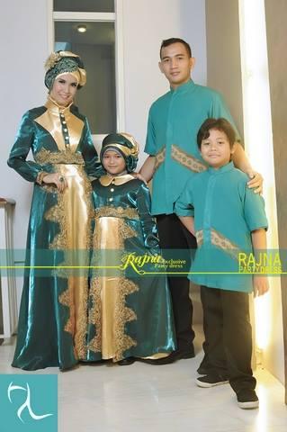 Rajna 11 Sarimbit Tosca Baju Muslim Gamis Modern