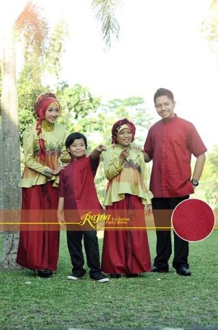 sarimbit modern muslim Pusat-Gamis-Terbaru-Rajna-16-Gold-Merah-Hangat