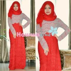 model baju yg terbaru Pusat-Gamis-Terbaru-SAPHIRA-Vol-2-by-Hawwa-Aiwa-Merah